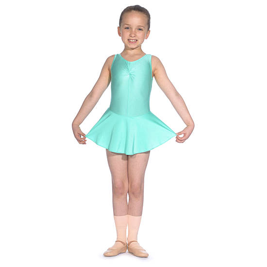 Sleeveless Leotard With Skirt Dance Clothes Dance Shoes