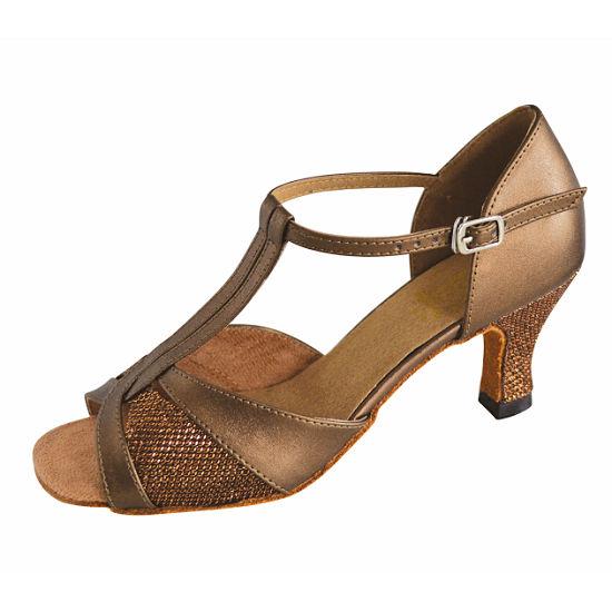 Rvcassie Ladies Bronze Shoes Dance Clothes Dance Shoes